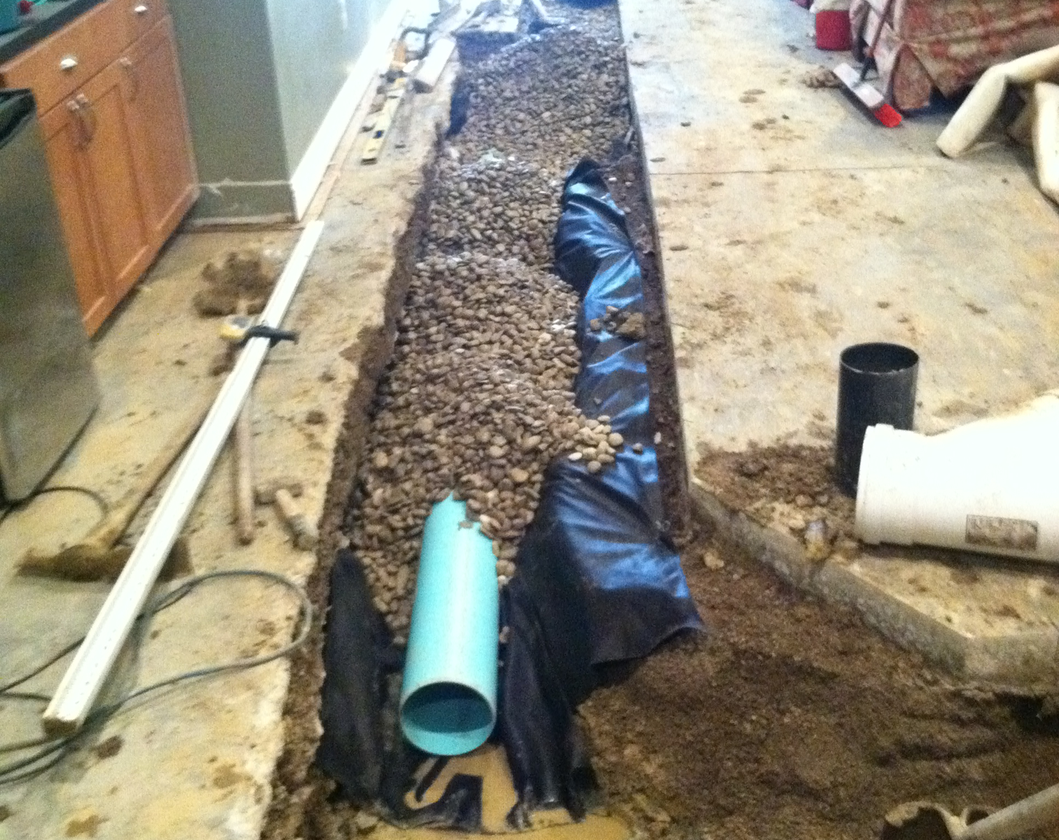 Drainage solutions tischbein co inc for Surface drainage solutions