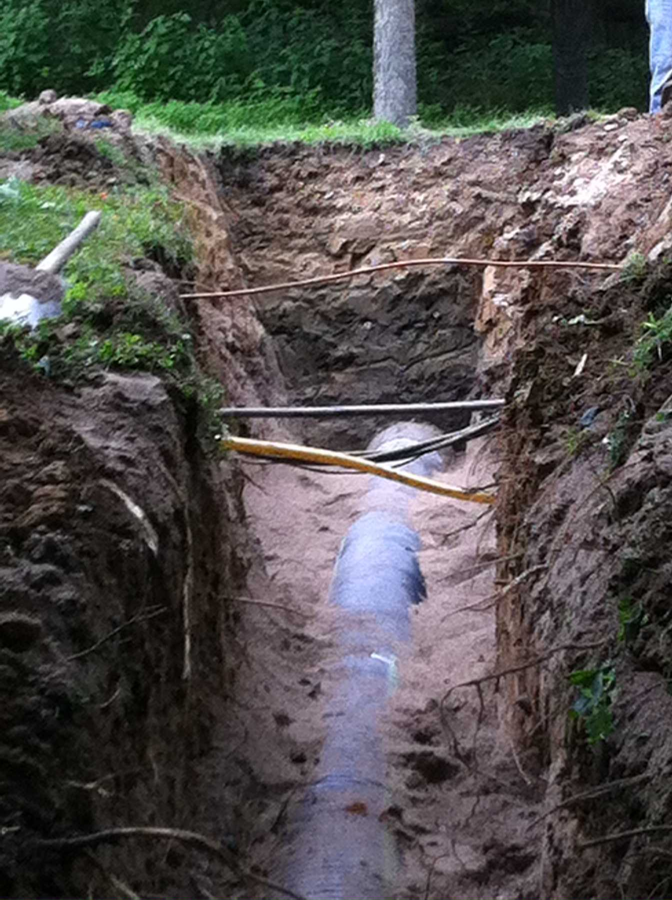 Pipe Culvert Lining : Culvert pipe replacemment across utilities tischbein co